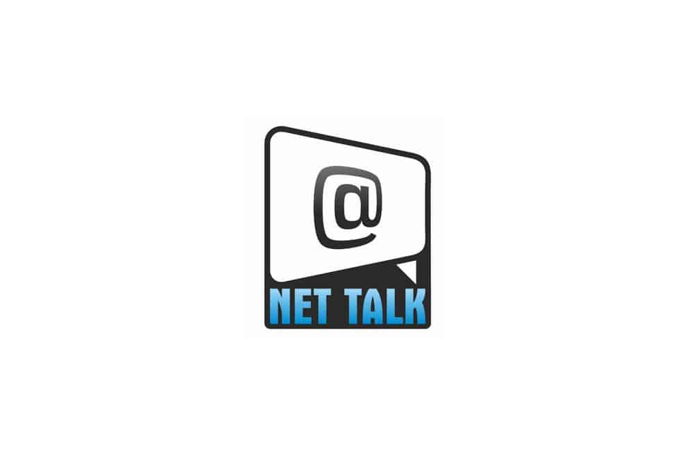 net talk internet cafe logo
