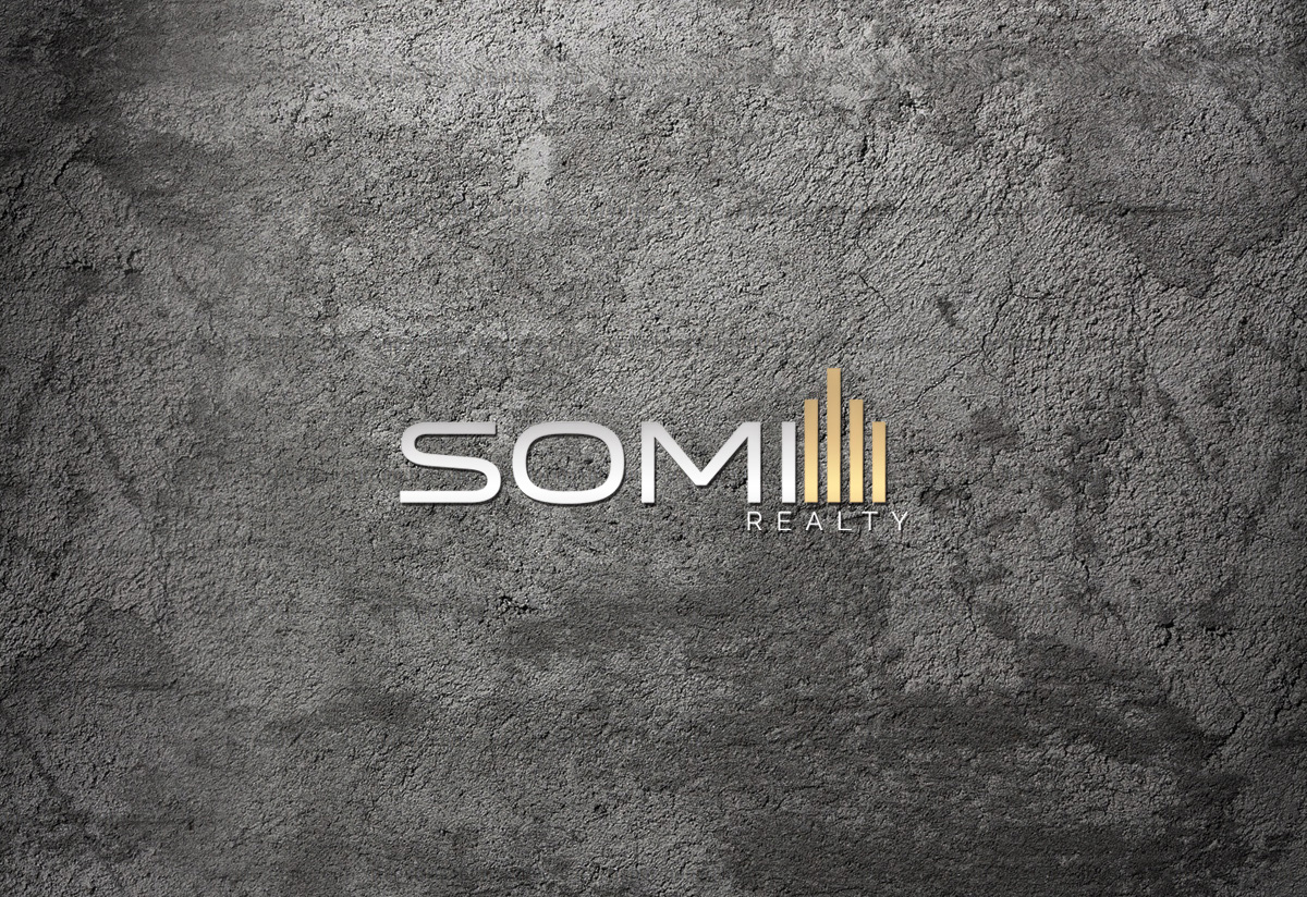 somi realty logo design