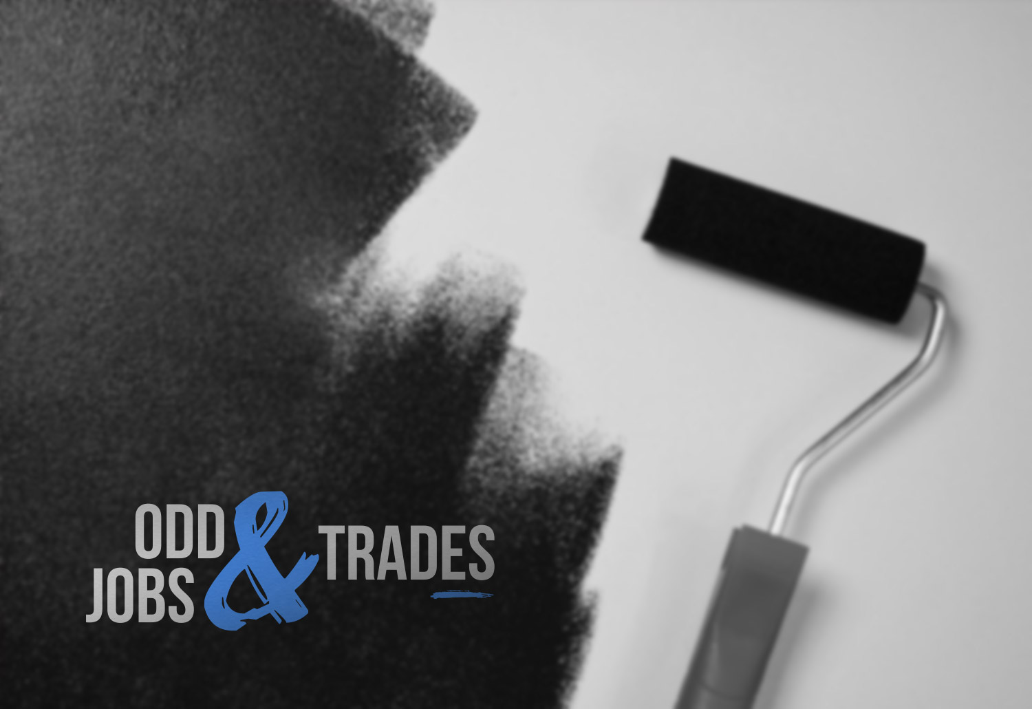 odd jobs and trades logo design