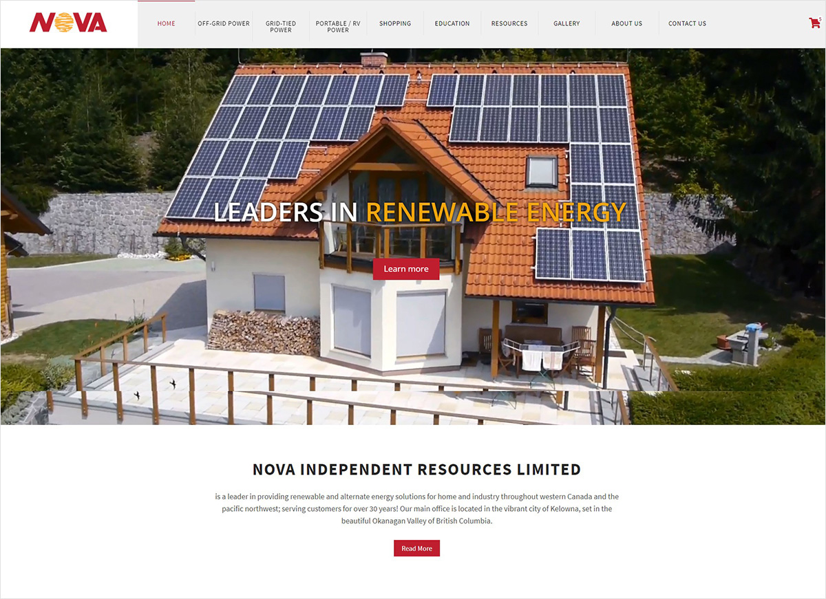 eggs media case study nova new website after