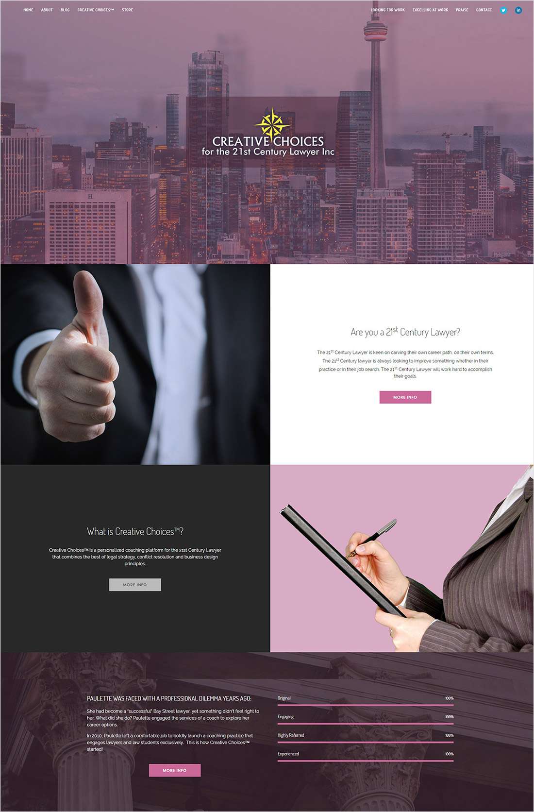 eggs media case study 21st century lawyer new website after