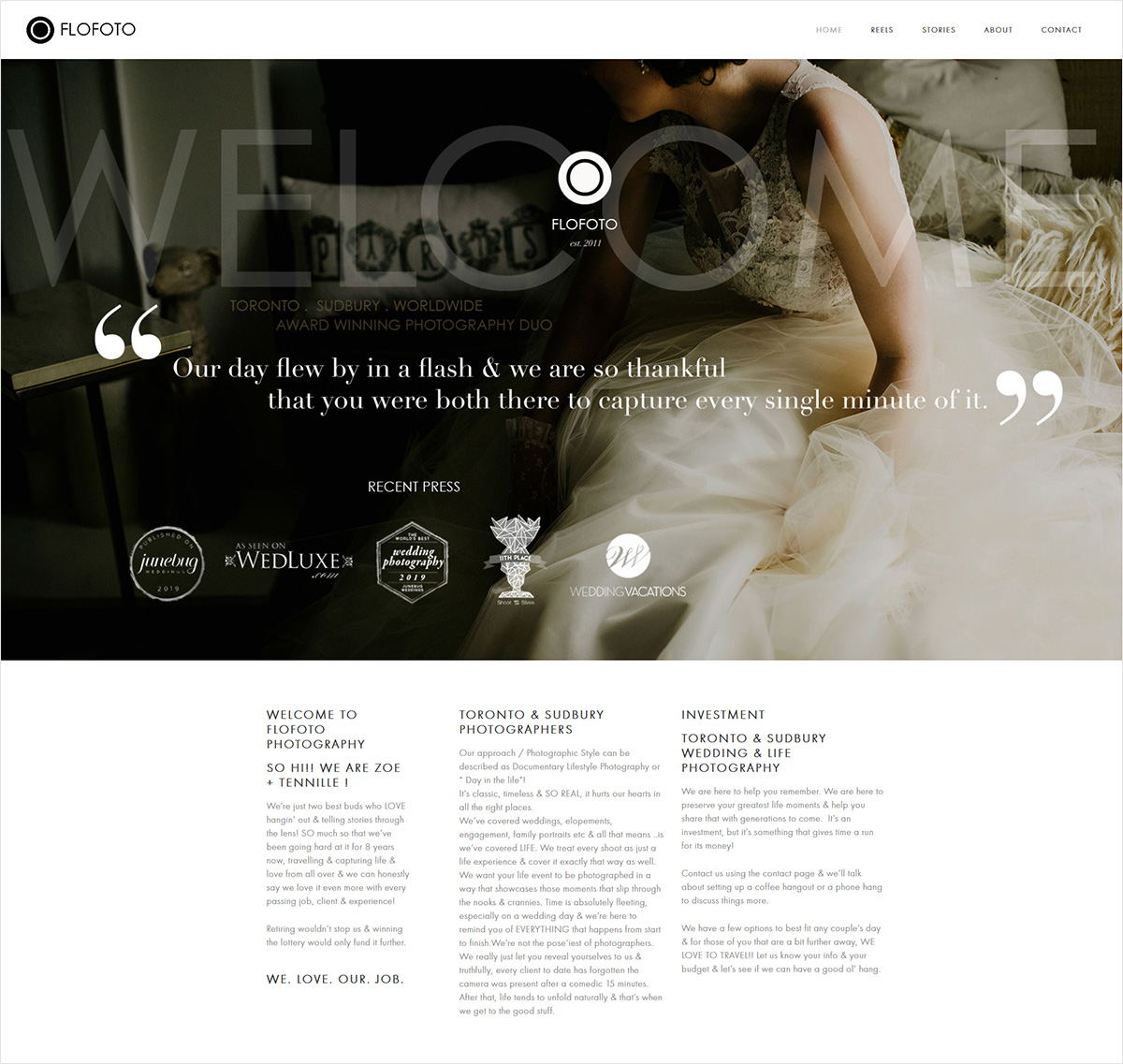 eggs media case study flofoto new website
